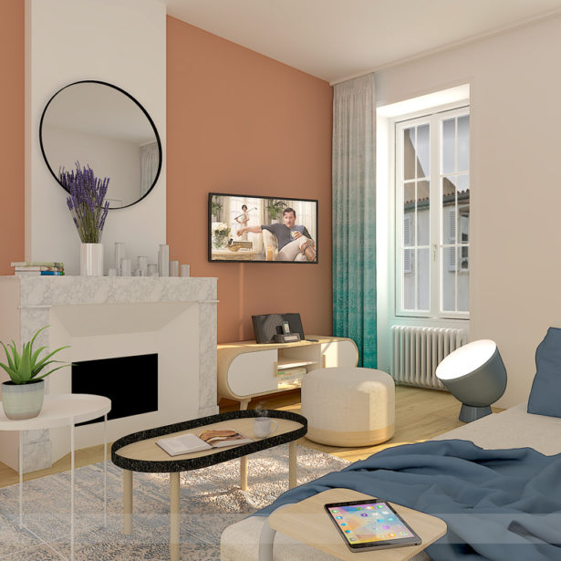 Rénovation de 10 appartements rue Gambetta à La Rochelle