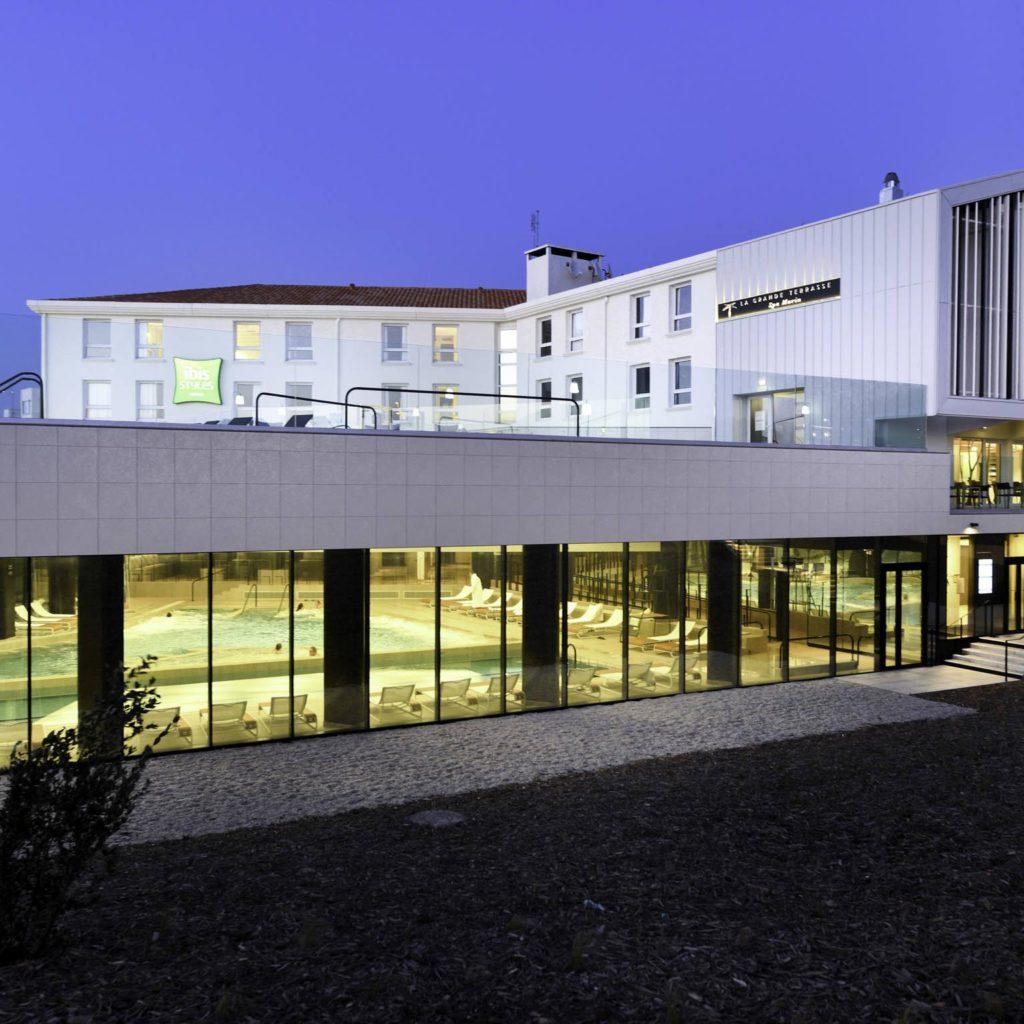 Missions de maître d'oeuvre, d'économiste, d'OPC et de DET pour l'hôtel Ibis Styles de Châtelaillon-Plage