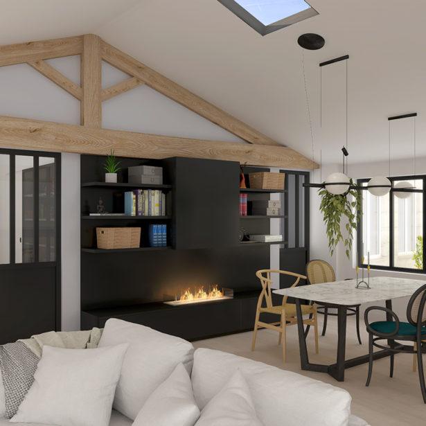 Projet de rénovation de 2 appartement à La Rochelle centre